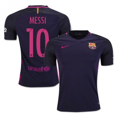 2016 2017 New Football Soccer MESSI 10 Away Jersey Purple  on Storenvy